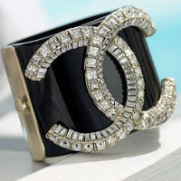 News_Roz Pactor_Fashion Trends of Decade_Chanel_logo_cuff_by Chanel