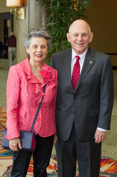 9 Charlotte and Peter Berkowitz at the Holocaust Museum Moral Courage Award dinner June 2014