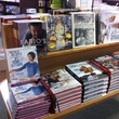 Christine Ha Brazos Bookstore cookbook on stand