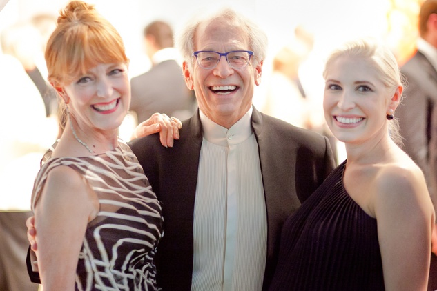 19 Gracie Cavnar, from left, Mickey Rosmarin and Isabel David at the CAMH Gala March 2015