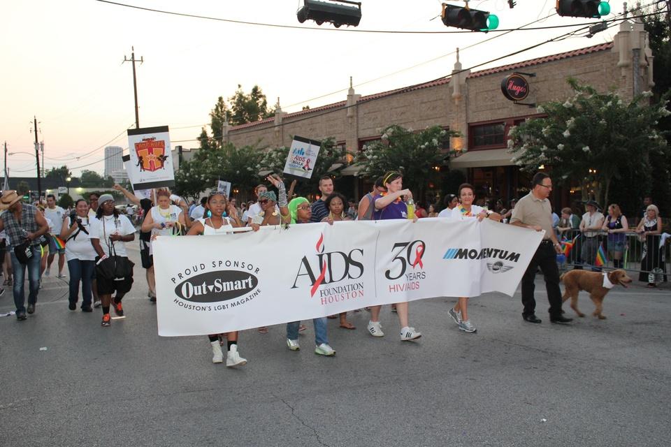 Gay Pride Parade, Houston AIDS Foundation, June 2012