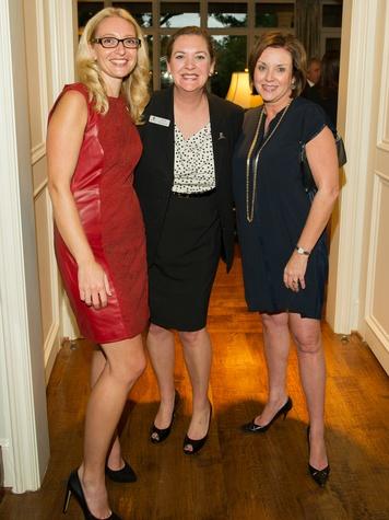Dr. Tanja Gruber, Sarah Harmeyer and Elizabeth Smith