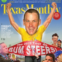 Austin Photo Set: News_caitlin_lance armstrong bum steer_dec 2012_cover
