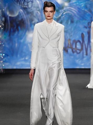 Clifford New York Fashion Week fall 2015 Naeem Khan March 2015 LOOK 43
