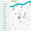 The Monroe at Bayou Park map