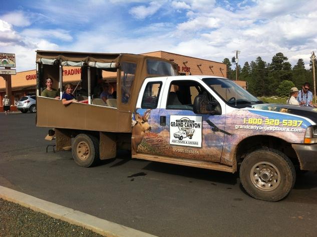 Truck at Grand Canyon