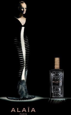 Alaia fragrance at Saks Fifth Avenue ad campaign