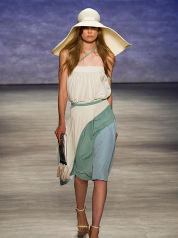 Fashion Week spring 2015 Rebecca Minkoff model