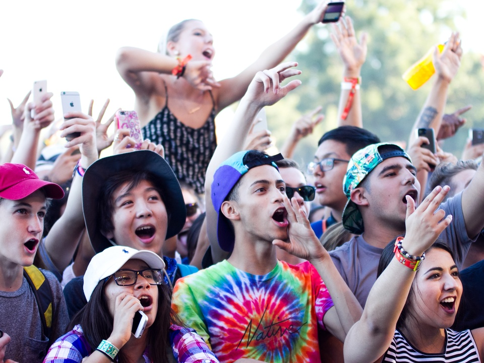 Austin City Limits Festival ACL 2014 Weekend One Day One Childish Gambino Crowd