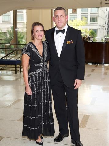12 Rosie Jowitt and Matthew VanVesien at the New York Philharmonic Opening Night October 2013
