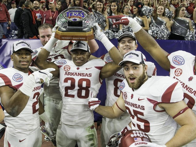 Texas Bowl trophy
