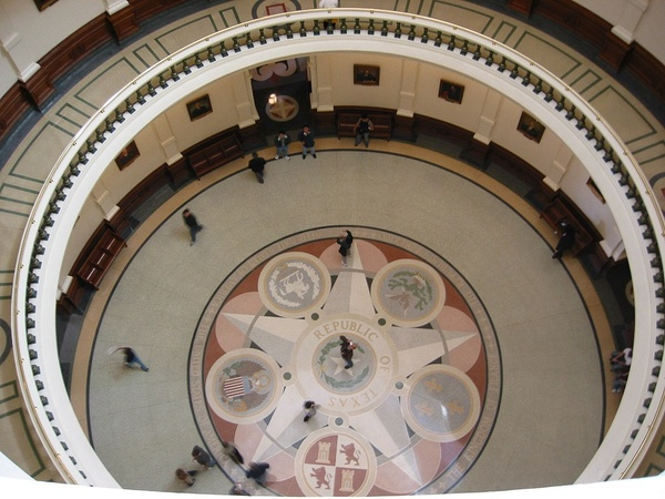 Texas Capitol, rotunda, Austin, November 2012