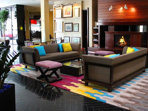 Hotel Derek lobby updated March 2014
