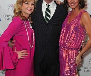 Kim Padgett, from left, John Evatz and Jessica Rossman at the Holly Rose Ribbon Foundation Day dinner September 2014