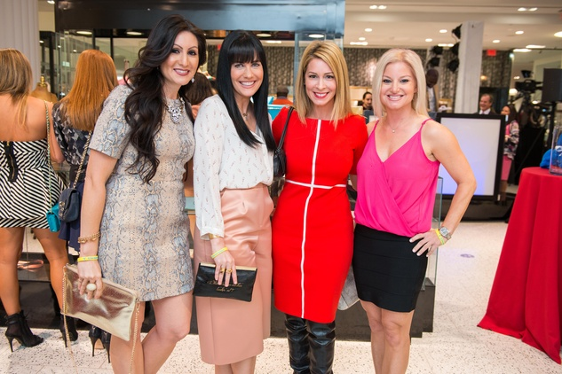 Amanda Moreno, from left, Tiffany Halik, Jennifer Barcelo and Heather Mountain at the Tootsies Love's in Fashion event February 2015