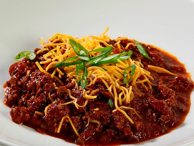 Spicy Ass Meatball Chili at Zeno's Famous Meatball Kitchen