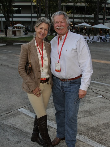 2920 Penny and John Wright at the Risotto Festival November 2013