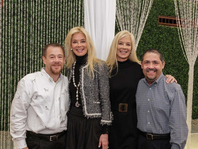 Shelby Kibodeaux, from left, Tama Lundquist, Tena Lundquist Faust and Bruce Padilla at the Best Friends Brunch February 2014