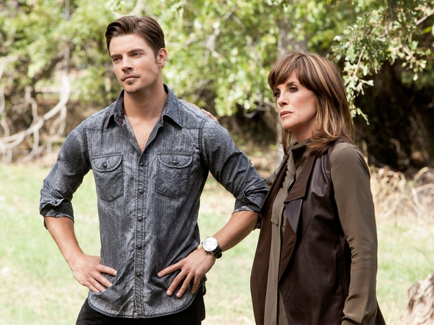 Josh Henderson and Linda Gray on season 3 of TNT's Dallas