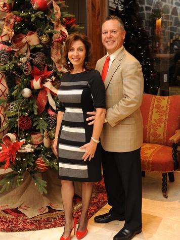 2 Shirley and Ralph Alexander at the Texas Children's Hospital Woodlands dinner December 2013