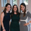 0050 11 Ashley Salazar, from left, Jessica Johnston and Veronica Adancik at the Houston Symphony's Young Associates Council season kick-off August 2014