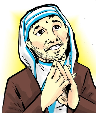 Tony Romo as Mother Teresa