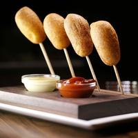 Del Frisco Grille's corndogs