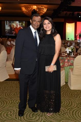 Nora's Home Gala 2015 Jay and Reena Patel