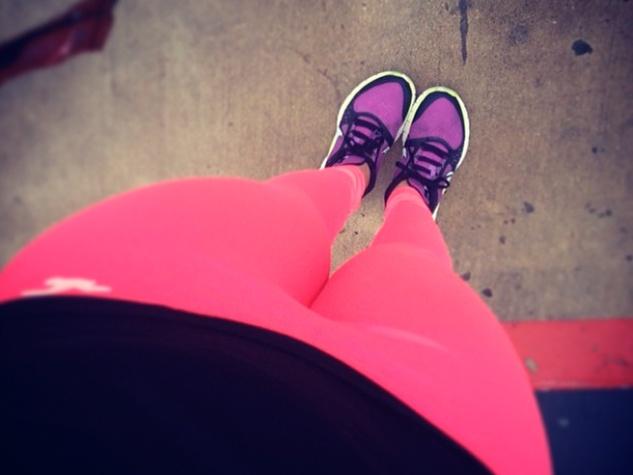 fog in Houston February 2014 pink pants