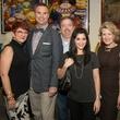 Deborah Pilmmer, Stacy Coulter, Landon Smith, Veronica Georlich, Catherine and Joe Dolen, Thrift Shop Kickoff