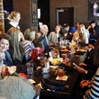Golden Nugget Lake Charles La. December 2014 grand opening Fertitta family lunching at Cadillac Bar