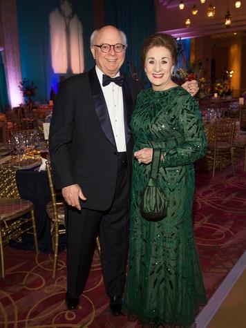 Glenn Bauguss and Martha Turner at the Houston Ballet Ball February 2014