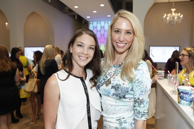 6 Jaquel Andrews, left, and Ashley Seippel at WOW with Kendra Scott October 2014