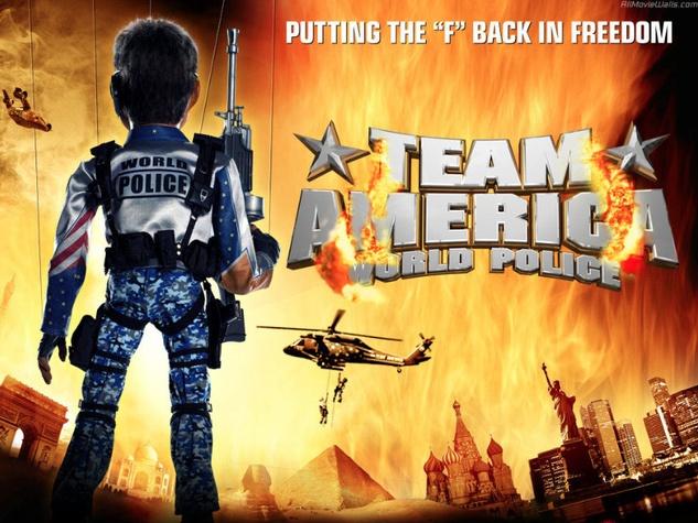 poster for Team America World Police