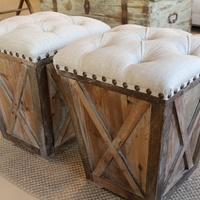 Fab Find, Lam Bespoke, cushioned seats, ottomans, November 2012