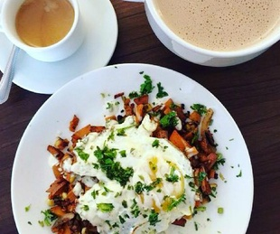 Barrio Barista eggs and coffee San Antonio