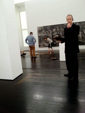 Cy Twombly piece falls at Menil
