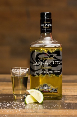 Lunazul tequila at On The Border