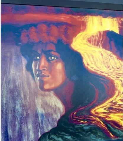 Big Island Pele Volcano Goddess