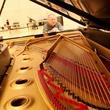 9 Kirill Gerstein prepares piano for Houston Symphony performance September 2013