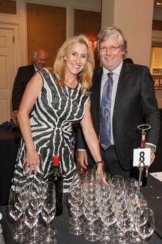 Sissy Preston and Paul Basinski at Best Cellars September 2014