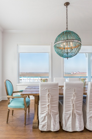 interior design Laura Umansky Crystal Beach beach house March 2015