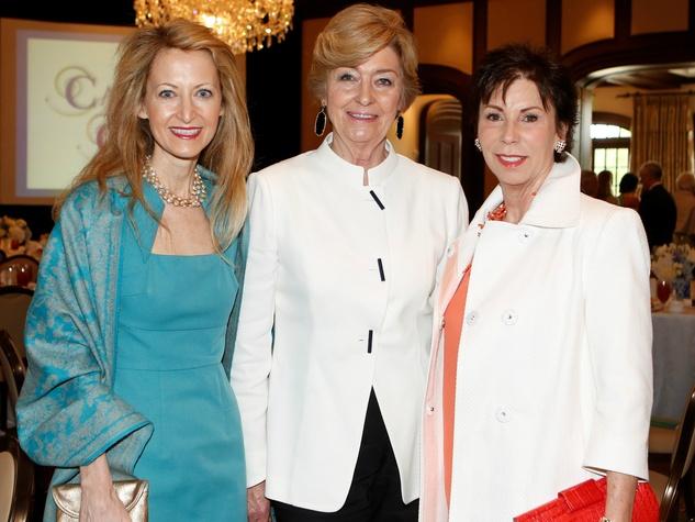 Lynn McBee, Nancy Carter, Di Johnston, Callier Cares