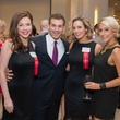Jentry Kelley, from left, Johnathan Paull, Sheena Garner and Andrea Simmons at the Leukemia & Lymphoma Society Man & Woman of the Year Kick-off April 2015