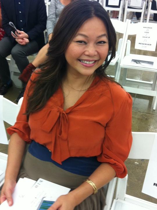 Chloe Dao, Mercedes-Benz Fashion Week, September 2012
