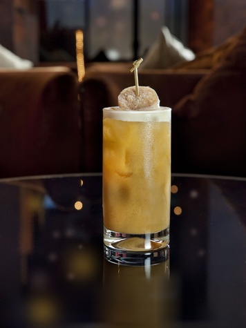 Atlantico Rum Kabocha Spiced Cocktail from Nobu