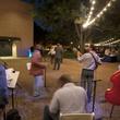 El Rectorado del Son band performing at Rothko Chapel's Moonrise Party on the Plaza October 2013