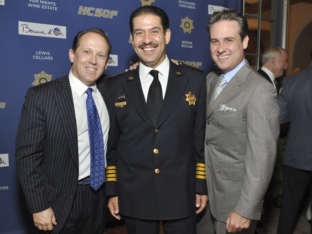 018, World Master Chefs dinner, September 2012, Franco Valobra, Sheriff Adrian Garcia, John Houghtaling