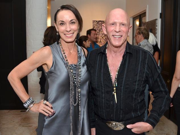 Richard Grieco, cocktail reception, September 2012, Sue Smith, Lester Smith