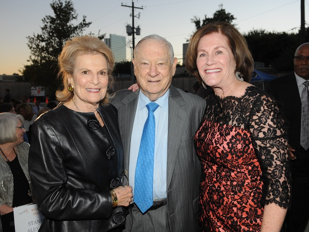 12 Joan and Stanford Alexander, from left, with Nancy Levicki at the Dress for Success 15th anniversary party October 2013